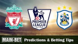 Liverpool vs Huddersfield Betting Predictions, 28 Oct 2017