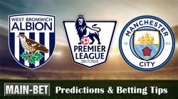West Brom vs Man City Betting Predictions, 28 Oct 2017