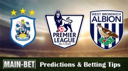 Huddersfield vs West Brom Predictions, 04 Nov 2017