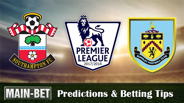 Southampton vs Burnley Predictions, 04 Nov 2017