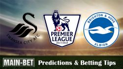 Swansea City vs Brighton Predictions, 04 Nov 2017