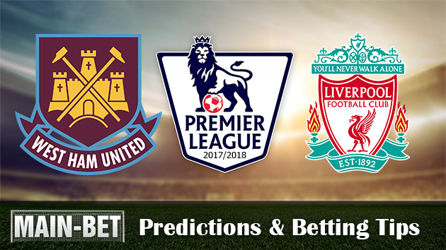 West Ham vs Liverpool Predictions, 04 Nov 2017