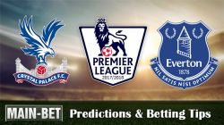 Crystal Palace vs Everton Predictions, 18 Nov 2017