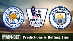 Leicester vs Man City Predictions, 18 Nov 2017