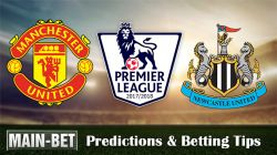 Man United vs Newcastle United Predictions, 18 Nov 2017