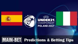 Spain vs. Italy: Euro 21s Semi-final Predictions & Match Preview 27/06/2017