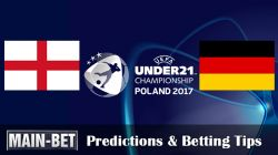 England vs. Germany: Euro U21s Semi-final Predictions & Match Preview 27/06/2017