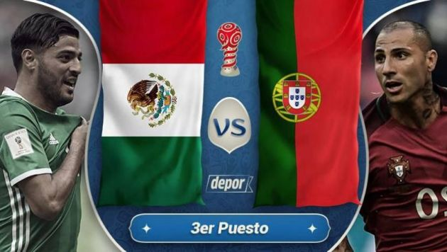 Confederations Cup: Portugal vs Mexico Prediction, 02 July 2017