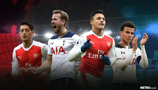 Arsenal vs Tottenham Predictions, 18 Nov 2017