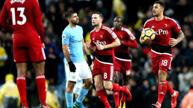 Man City 3-1 Watford: Citizens breeze through Watford to stay top
