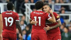 Forwards Coutinho and Salah to miss third-round FA tie against Everton