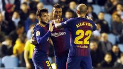 Celta 1-1 Barcelona: Blaugranes fail to win at Celta for third time