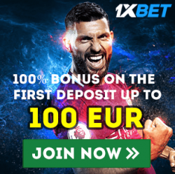 100% BONUS ON THE FIRST DEPOSIT UP TO 100 EUR!