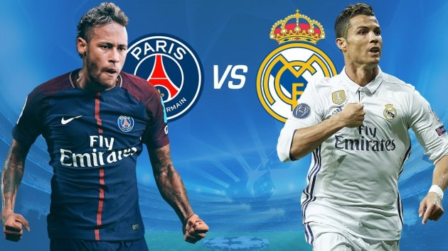 Real Madrid Vs Paris