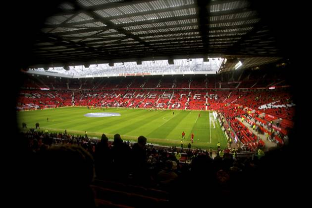 """Old Trafford Manchester United"" (CC BY 2.0) by Paolo Camera."