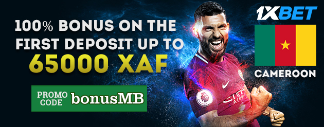 1xBet New Customer Bonus Up To 65000 XAF for Bettors in Cameroon