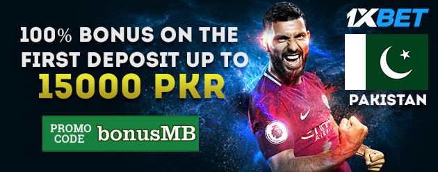 1xBet New Customer Bonus Up To 15000 PKR for Bettors in Pakistan