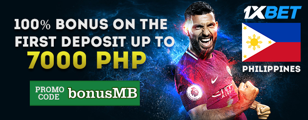 1xBet New Customer Bonus Up To 7000 PHP for Bettors in Philippines