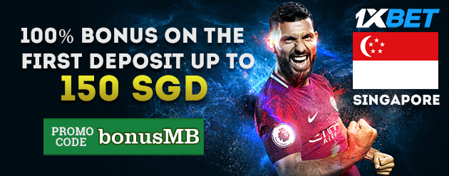 1xBet New Customer Bonus Up To 150 SGD for Bettors in Singapore