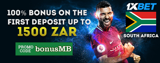 1xBet New Customer Bonus Up To 1500 ZAR for Bettors in South Africa