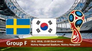 Sweden vs South Korea Predictions and Betting Tips, 18 Jun 2018