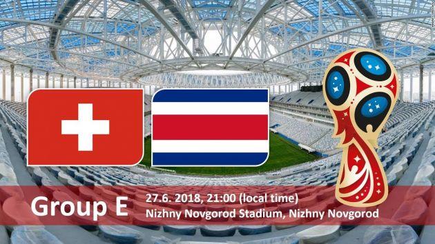 Switzerland vs Costa Rica Predictions and Betting Tips, 27 Jun 2018