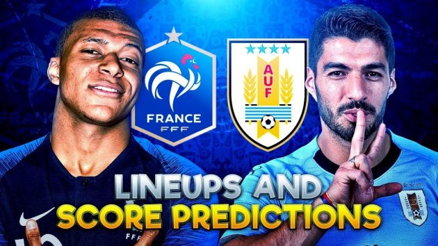 Uruguay vs France Predictions and Betting Tips, 06 Jul 2018