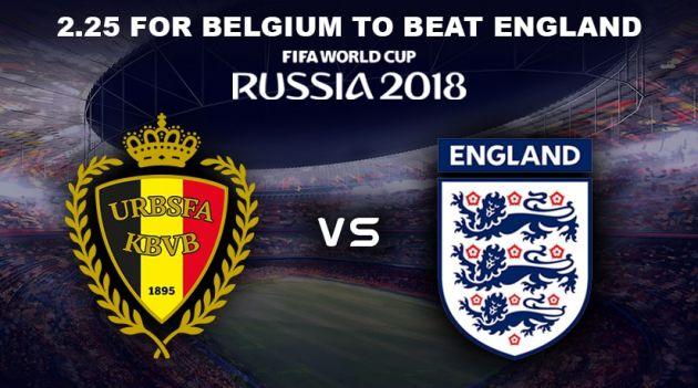 Belgium vs England Predictions and Betting Tips, 14 Jul 2018