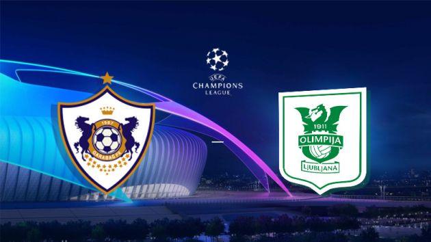 Qarabag vs Olimpija Ljubljana Prediction & Betting tips 18.07.2018