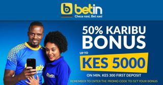 Betin Kenya Promo Code: How To Register and Get 50% Karibu Bonus 5000 KES