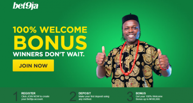 Bet9ja Nigeria Promo Code: How to Sign Up And Get N100,000 Bonus