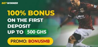 How to claim free 500 GHS for bets with …