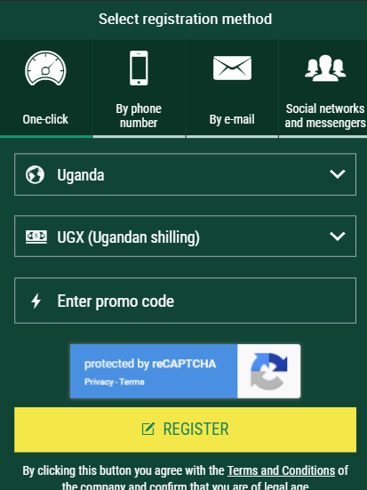 How to claim free 500,000 UGX for bets with BetWinner Uganda Promo Code