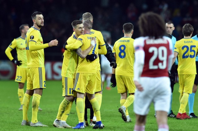 Arsenal vs BATE Borisov Predictions and Betting Tips, 21 Feb 2019
