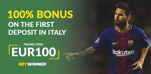 BetWinner Promo Code «EUR100» in Italy: How To Register And Claim Bonuses