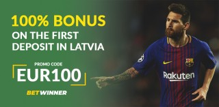 BetWinner Promo Code «EUR100» in Latvia: How To Register And Claim Bonuses