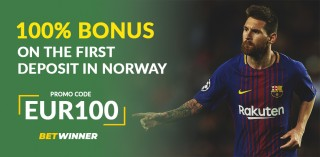 BetWinner Promo Code «EUR100» in Norway: How To Register And Claim Bonuses
