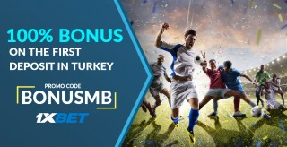 1xBet Promo Code «BONUSMB» in Turkey: How To Register and Get Bonuses