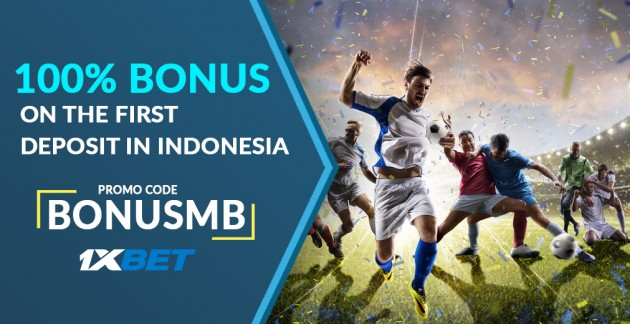 1xBet Promo Code «BONUSMB» in Indonesia: How To Register and Get Bonuses