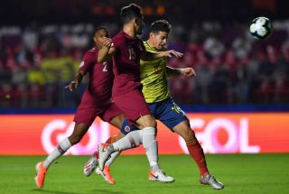 Copa America: Colombia through with narrow win over Qatar