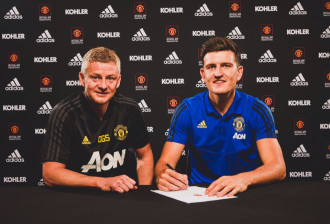 Official: Harry Maguire has moved to Old Trafford for a record-breaking fee