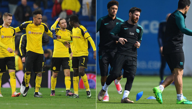 ผลการค้นหารูปภาพสำหรับ Dortmund-vs-Barcelona