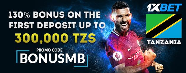 1xBet New Customer Bonus Up To 300,000 TZS for Bettors in Tanzania