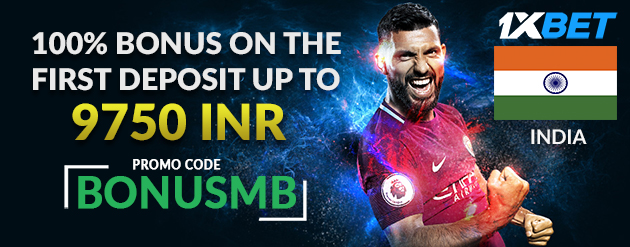 1xBet New Customer Bonus Up To 9750 INR for Bettors in India