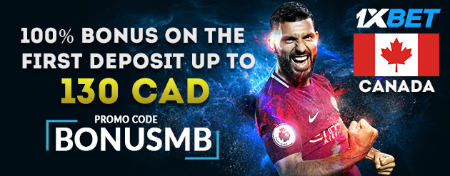 1xBet New Customer Bonus Up To 130 CAD for Bettors in Canada