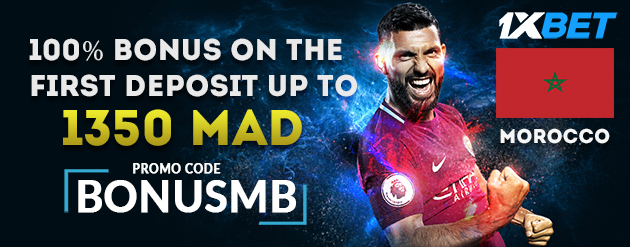 1xBet Bonus Up To 1350 MAD (€130) with Promo Code For Bettors in Morocco