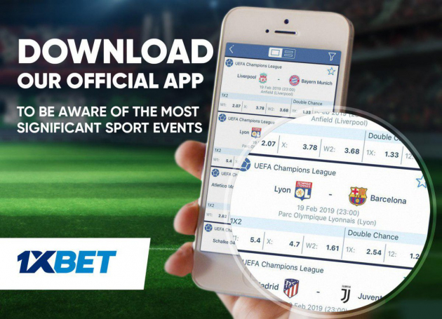 1xBet Mobile App: Download Android and iOS Apps For Mobile Betting