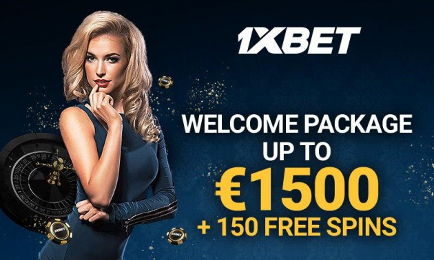 1xBet Offers a Welcome Bonus of Up To €1500 + 150 Free Spins at the Casino